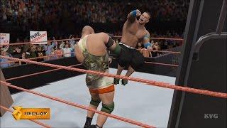 getlinkyoutube.com-WWE 2K16 - Table Match   John Cena vs Ryback Gameplay (HD) [1080p60FPS]