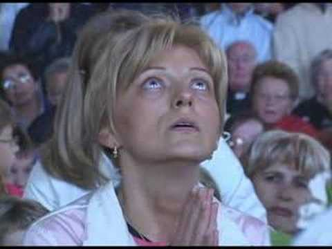 Medjugorje Apparitions - Visionary Mirjana Soldo & Our Lady