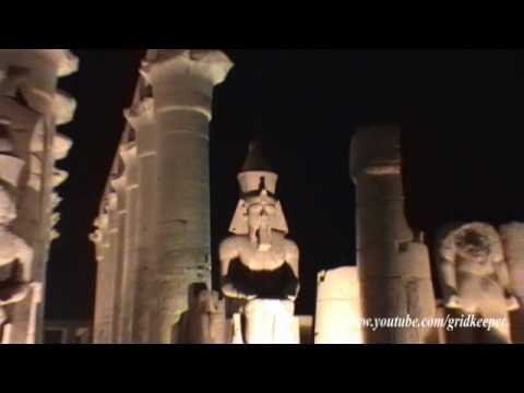 Luxor Temple Egypt Night View