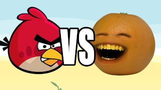 getlinkyoutube.com-Annoying Orange vs Angry Birds: ORANGE