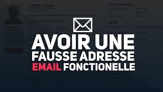 getlinkyoutube.com-◢ Tuto ◣ Avoir une Fausse Adresse email qui marche ◢ Fake mail Generator ◣
