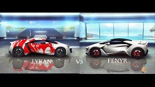 getlinkyoutube.com-Lykan Hypersport  vs Fenyr Supersport (Asphalt 8 PC Gameplay)