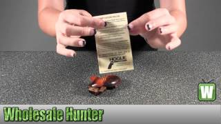 getlinkyoutube.com-Hogue S&W J Frame Round Butt Grip Bantam Coco Bolo 61850 Shooting Gaming Unboxing