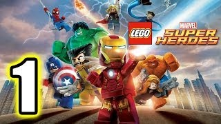 getlinkyoutube.com-LEGO Marvel Super Heroes Walkthrough PART 1 [PS3] Lets Play Gameplay TRUE-HD QUALITY