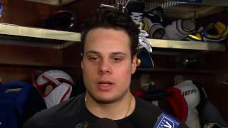 getlinkyoutube.com-Maple Leafs Morning Skate: Auston Matthews - January 17, 2017