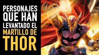 getlinkyoutube.com-17 personajes que han levantado el martillo de Thor