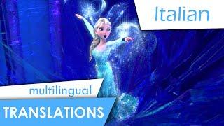 getlinkyoutube.com-Let it go (Italian) Subs + multi-Trans