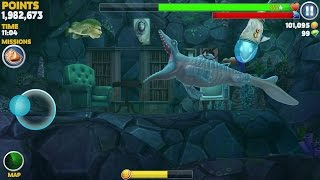 getlinkyoutube.com-Hungry Shark Evolution Mr Snappy Android Gameplay #4