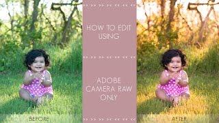getlinkyoutube.com-Photoshop CC Tutorial | Outdoor Portrait Edit Using Adobe Camera RAW