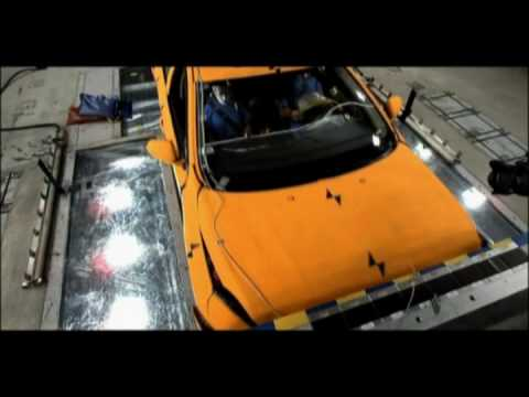 Volvo S60 Crash Testing In Slow Motion - Octane Report