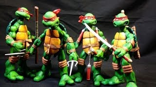 neca: tmnt (teenage mutanat ninja turtles) action figure toy review