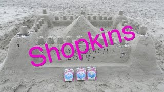 Shopkins Visit Myrtle Beach 2014 Opening Unboxing Season 1