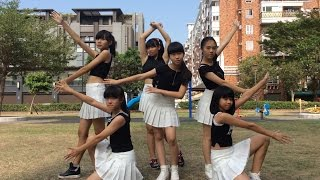 getlinkyoutube.com-GFriend - 오늘부터 우리는 Me Gustas Tu kpop dance cover by 愛妞青少年mv班