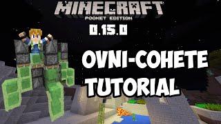 getlinkyoutube.com-¡Como hacer un ovni-cohete en Minecraft pe 0.15.0 build x Tutorial!  Sin mods