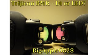 getlinkyoutube.com-Trijicon RMR - Dual Illuminated vs. LED