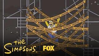 getlinkyoutube.com-Homer Falls Through Mr. Burns' Trapdoor | Season 28 Ep. 9 | THE SIMPSONS