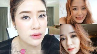 getlinkyoutube.com-HOW-TO || แต่งหน้า+รองพื้น ให้ผิวฉ่ำวาวเงาเหมือนสาวเกาหลี || NinaBeautyWorld