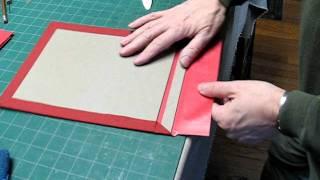 getlinkyoutube.com-Japanese Binding in Boards - Part 2