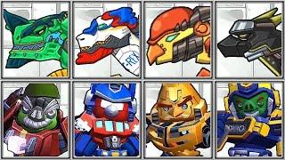 getlinkyoutube.com-Dino Robot Corps + Angry Birds Transformers - Full Game Play - 1080 HD