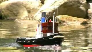 getlinkyoutube.com-RC Boat - Jan - Steam Tug