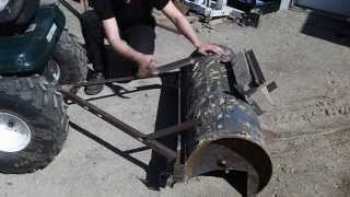 getlinkyoutube.com-Home Made Box Scraper from Hot Water Heater