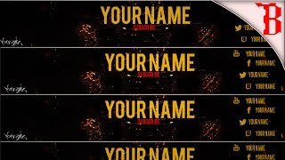 getlinkyoutube.com-Call Of Duty Black Ops 3 Free Youtube Banner Template By Birdiee Arts