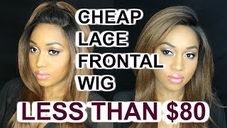 MOST AFFORDABLE LACE FRONTAL - LESS THAN 80$  -BSFO1  BROWN SUGAR