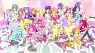 Precure All Stars DX3 Special version Opening Non-telop Movie