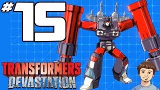 Transformers Devastation Walkthrough - PART 15 - Soundwave, Frenzy, Rumble, Laserbeak & Buzzsaw!