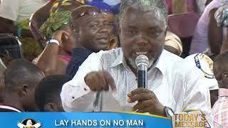 LAY HANDS ON NO MAN 30TH SEPTEMBER 2017 SATURDAY} Prophet Francis Kwateng