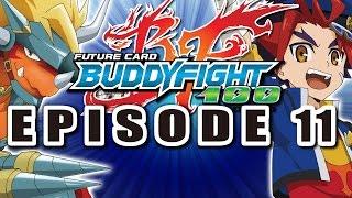 getlinkyoutube.com-[Episode 11] Future Card Buddyfight Hundred Animation