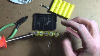 getlinkyoutube.com-Make your own RC Car Battery Pack or Repair NIKKO Ni-Cd 6.0V-620mAh