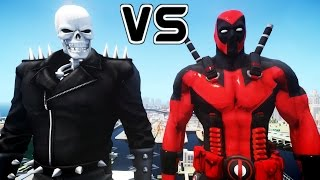 getlinkyoutube.com-DEADPOOL VS GHOST RIDER - DEADPOOL ULTIMATE