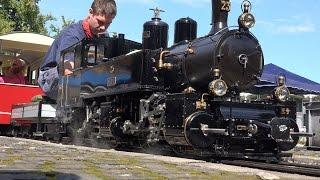 getlinkyoutube.com-(UHD/ 4K)  Dampflokmodelle Münsingen Schweiz 2014/ Live Steam Trains