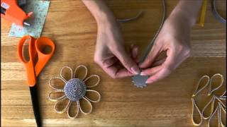 getlinkyoutube.com-Zipper Trim Sunflower Tutorial