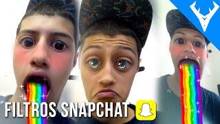 getlinkyoutube.com-Como ativar os novos filtros do snapchat BETA ANDROID Oficial