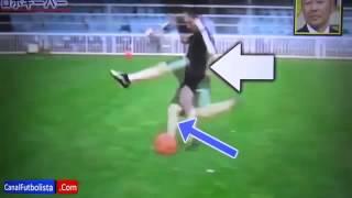 getlinkyoutube.com-Messi guard against Japan robot  ميسي ضد حارس اليابان الالي