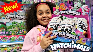 getlinkyoutube.com-NEW Hatchimals Colleggtibles Surprise Eggs Blind Bags Opening - Kids Toy Review   Toys AndMe