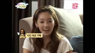 getlinkyoutube.com-Jessica, LAY, Sooyoung, Seohyun immitate Christina