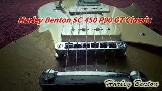 getlinkyoutube.com-Harley Benton SC 450 P90 GT Classic