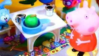 getlinkyoutube.com-Свинка Пеппа.  Peppa Pig. В гостях у Бабы Яги  2 серия  Мультфильм для детей