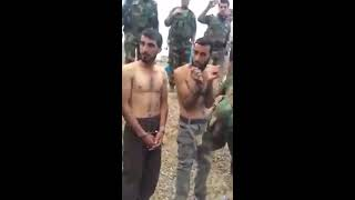 getlinkyoutube.com-Mosul Operation (2016)  Captured ISIS Members