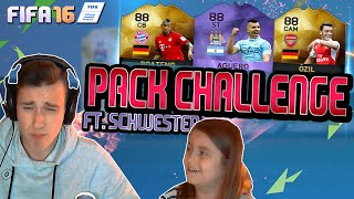 getlinkyoutube.com-FIFA 16 SAUERE PACK CHALLENGE MIT KLEINER SCHWESTER!