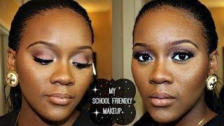 getlinkyoutube.com-Beginner Friendly: My School Friendly Makeup Tutorial