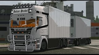 getlinkyoutube.com-[ETS2 v1.18.1] Scania Streamline Tandem