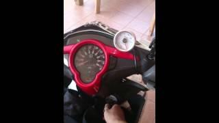 getlinkyoutube.com-Lc135 V2 5s Horsepower exhaust & rev rider alarm