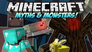 getlinkyoutube.com-Minecraft   MYTHS & MONSTERS! (NEW Bosses, Mobs & Weapons!)   Mod Showcase [1.4.7]