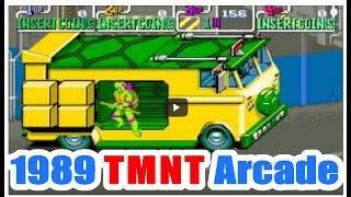 getlinkyoutube.com-1989 Teenage Mutant Ninja Turtle TMNT Arcade Old School Game Playthrough retro game
