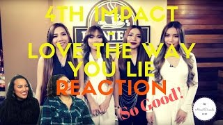 """4th Impact performs """"Love The Way You Lie"""" on Wish 107.5 TV 