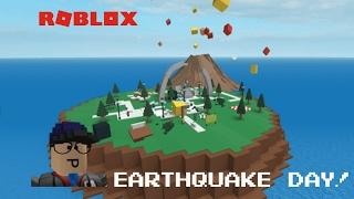 getlinkyoutube.com-Roblox   Natural Disaster Survival   Earthquake day!